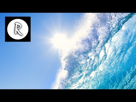 Calming Seas - 12 Hours Ocean Waves Sounds | Nature Relaxation Yoga Meditation | Reading Sleep Study
