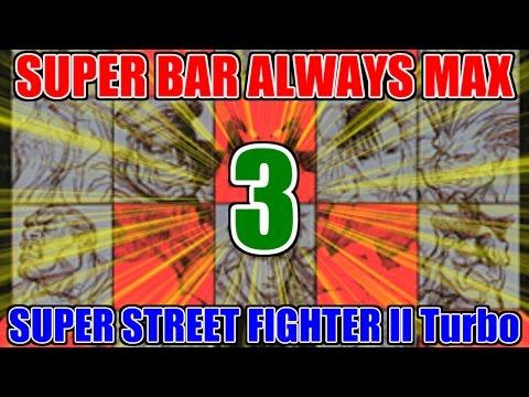 [3/4] スーパーコンボゲージ常時MAX - スーパーストリートファイターII X