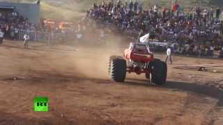 Una exhibición de camiones 'monstruo' provoca seis muertos en México