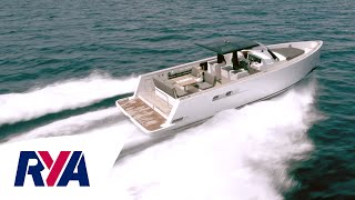 Fjord 40 Open Luxury Motorboat Boat Tour -  IPS-powered Hardtop Sports Cruiser