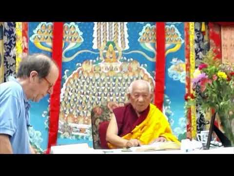 14 Pramanavarttika with Geshe Yeshe Thabkhe: The Buddha as Sugata 08-27-19