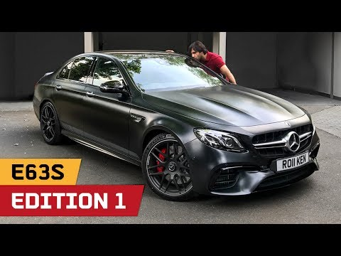 Mr.AMG's NEW AMG E63S Edition 1 4Matic Plus! AND Exhaust vs C63S