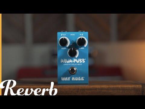 Way Huge Smalls Series Aqua-Puss Analog Delay MkIII | Reverb Demo Video