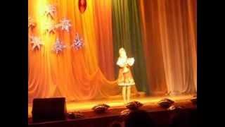 песня Барыня поёт Полина Калмыкова 10 лет