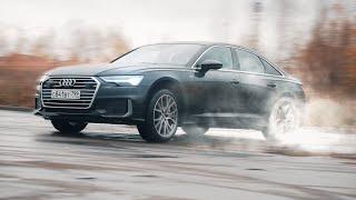 Audi A6 УльтраТурбо.Тест-драйв.Anton Avtoman.