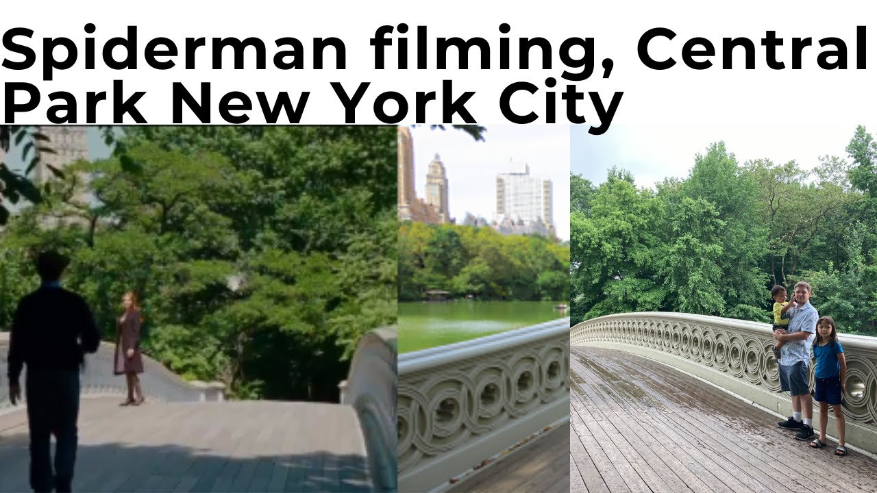 Spiderman Filming location in Central Park in New York City.