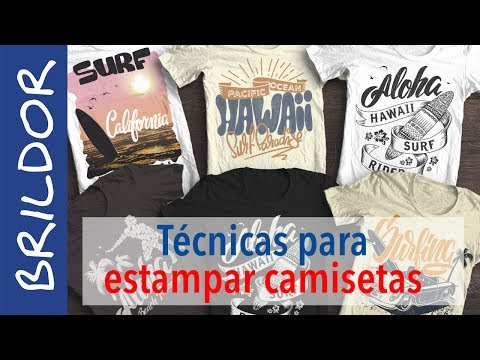 best sell great prices factory outlet Cómo personalizar camisetas: las mejores técnicas - YouTube
