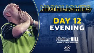 THE BEST MATCH EVER?! | Day 12 Evening Highlights | 2020/21 William Hill World Darts Championship
