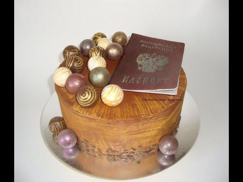 декором фото тортов украшение шоколадным