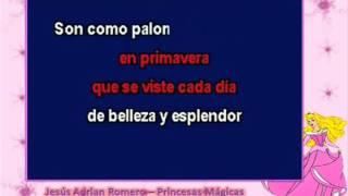 Princesas Mágicas - Jesús Adrian Romero (Karaoke)