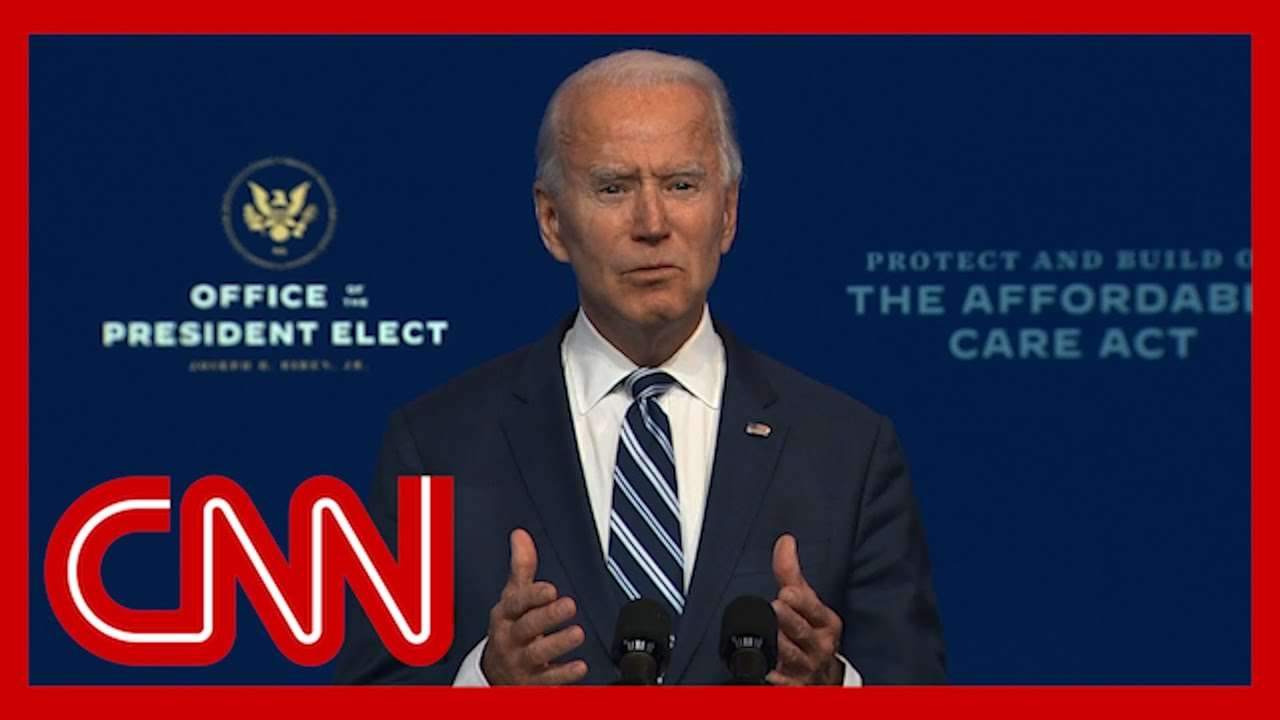 Biden on Trump's refusal to concede: It's an embarrassment