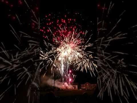 Needham MA fireworks finale - Jul 3 2017