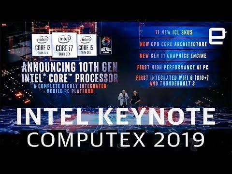 Intel keynote at Computex 2019 in 11 minutes