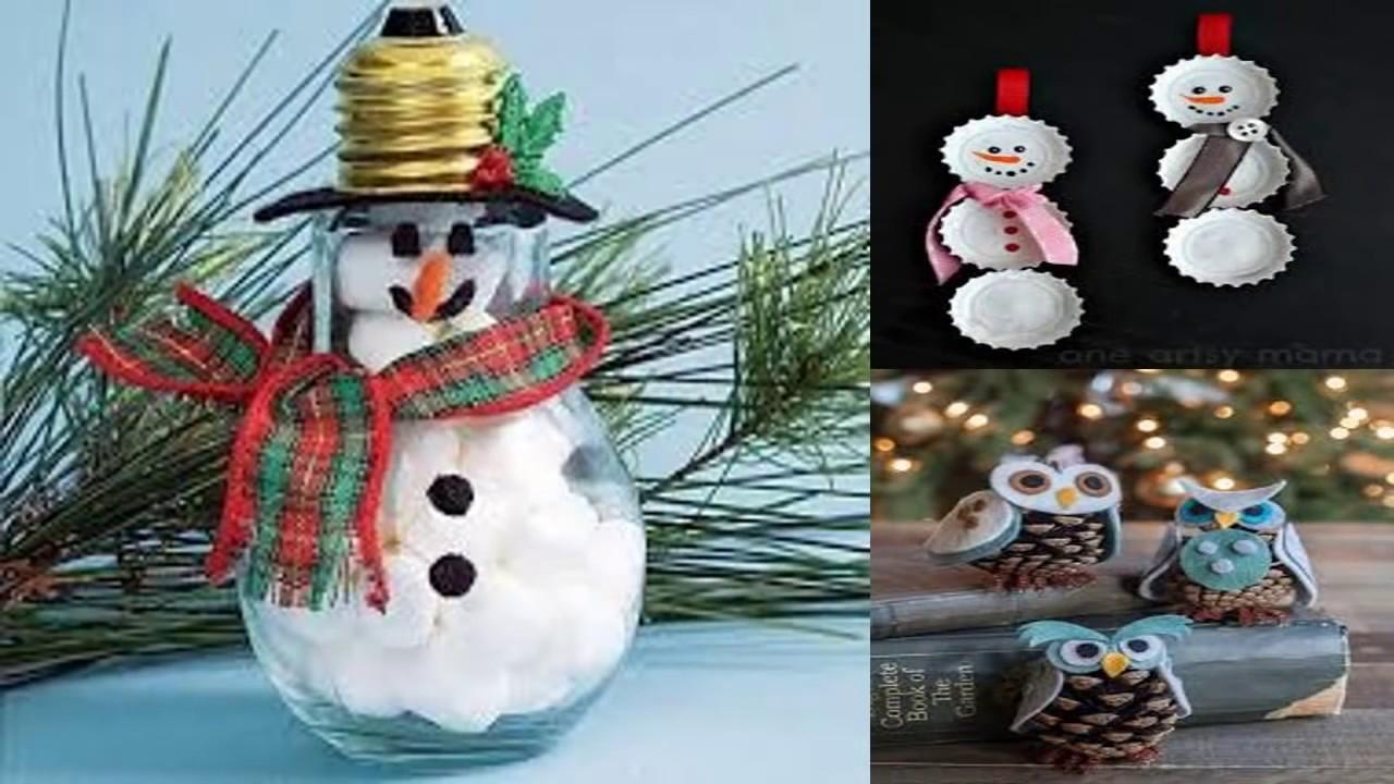 36 ideas para decorar en navidad manualidades para estas