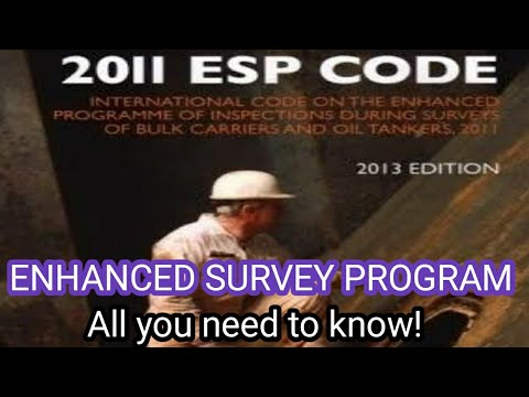 Special Survey: Enhanced Survey Program- Everything you need to know for Exams!