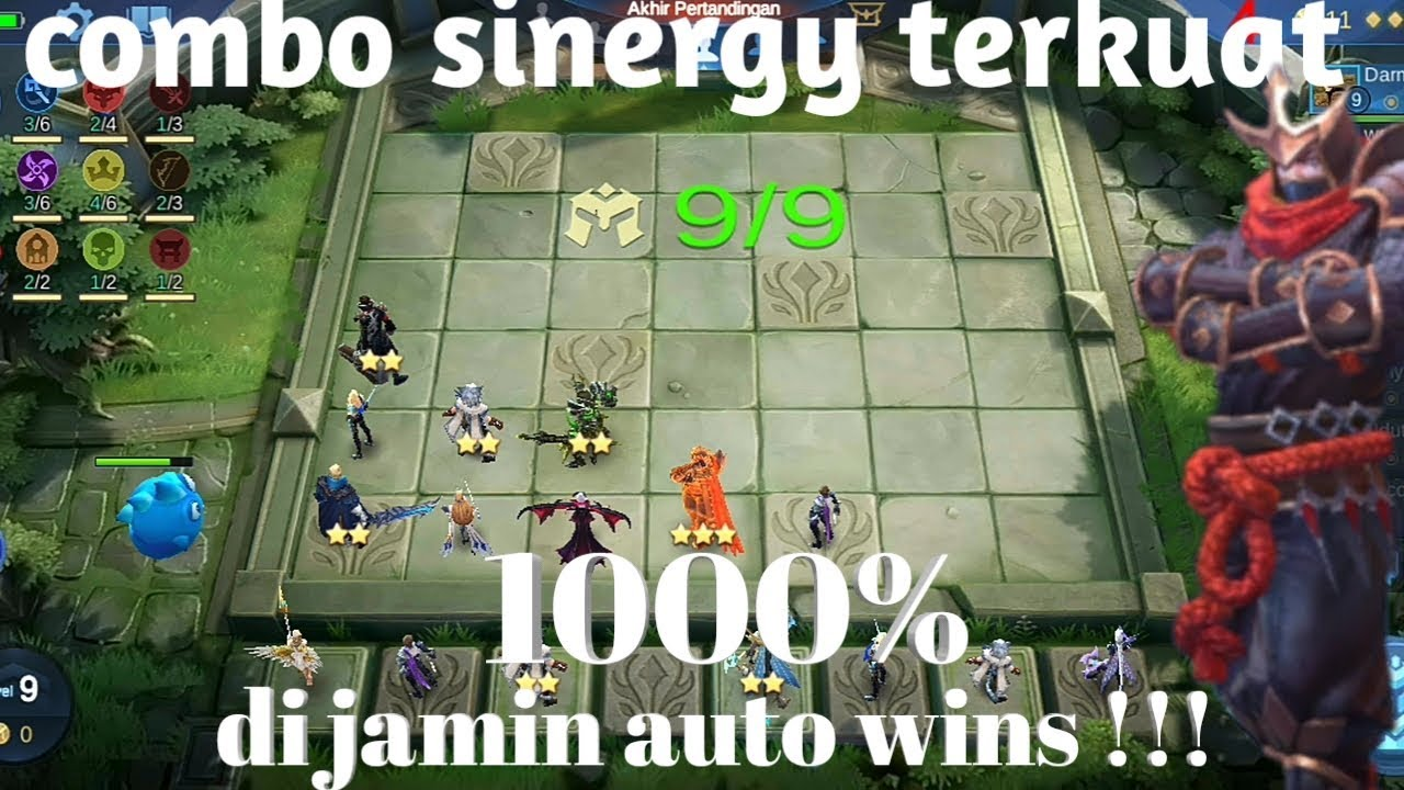 Cara main magic chess agar menang terus ,combo sinergy ...
