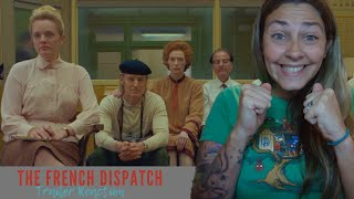 The French Dispatch Official Trailer REACTION