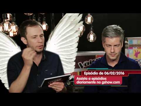 The Voice Kids Web: Tiago Leifert brinca com falta de intimidade de Victor na internet