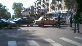 Абакан. ДТП. Хонда и мотоцикл - Чертыгашева-Вяткина