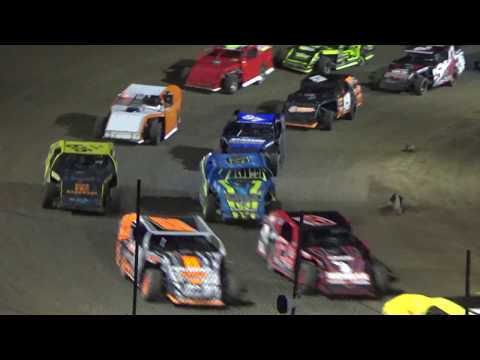 I.M.C.A. Feature Race at Crystal Motor Speedway, Michigan, on 08-25-2018!