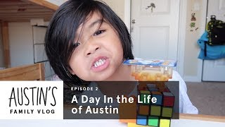 A Day In the Life of Austin | Austin Vlog | HiHo Kids