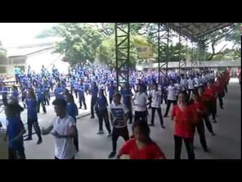 Angeles City National Trade School's Wellness Dance 2015