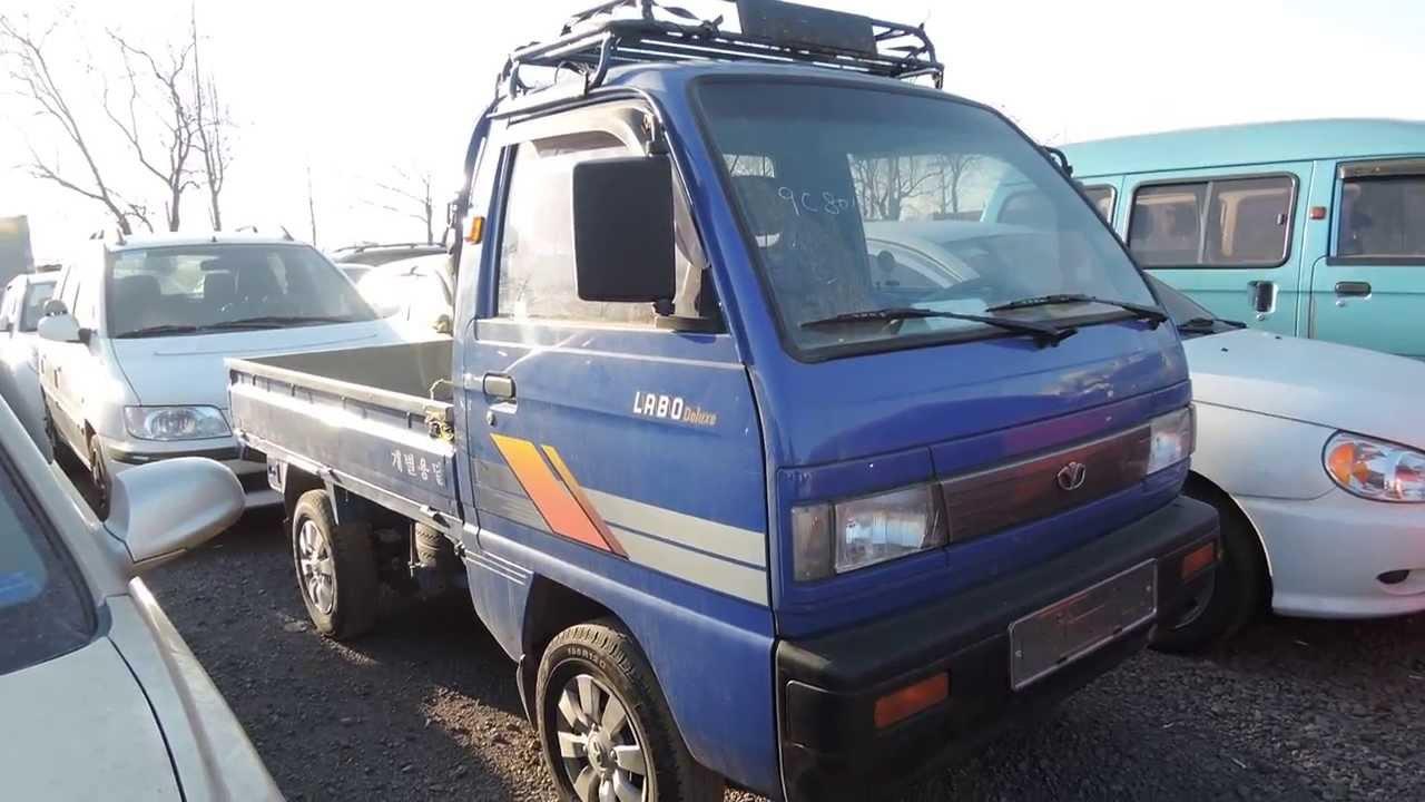 korean used gm daewoo labo truck корейские подержанные
