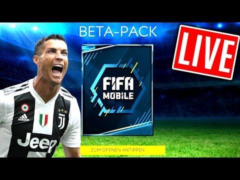 FIFA 19 MOBILE HYPE!! 😱🔥 FIFA 19 MOBILE BETA LIVESTREAM