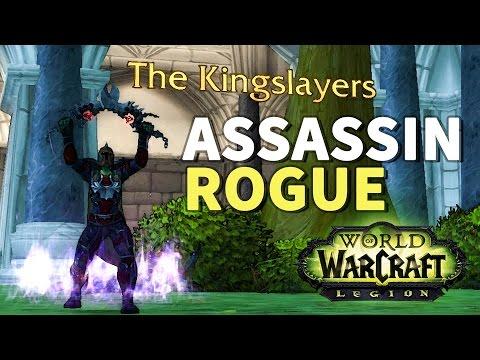 No Sanctuary WoW Assassination Rogue Artifact Quest