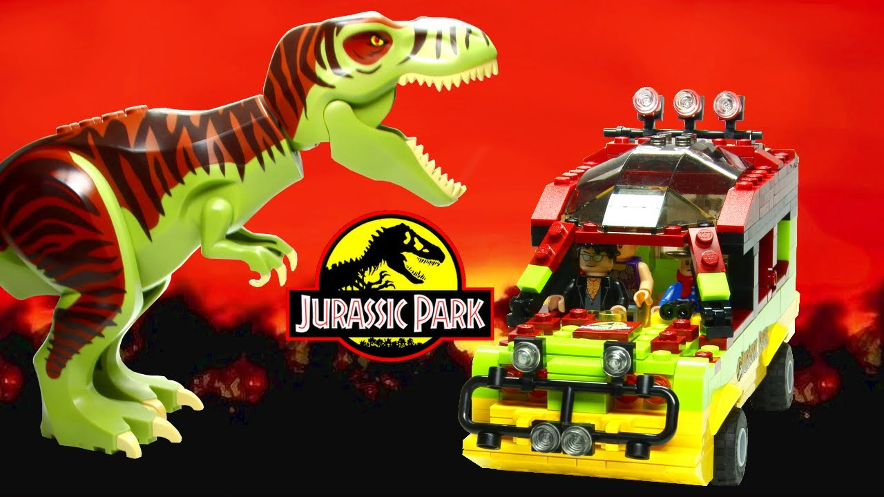 Lego jurassic park jungle explorer with t rex cuusoo - Jurasic park lego ...