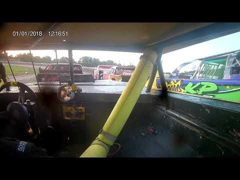 In car #01. - dirt track racing video image