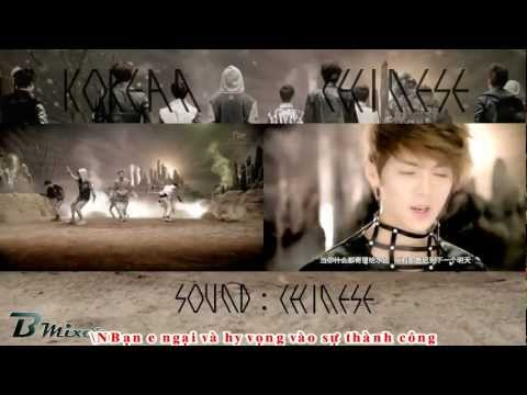 [Vietsub]EXO - HISTORY - Korean - Chinese Mix  MV Compare