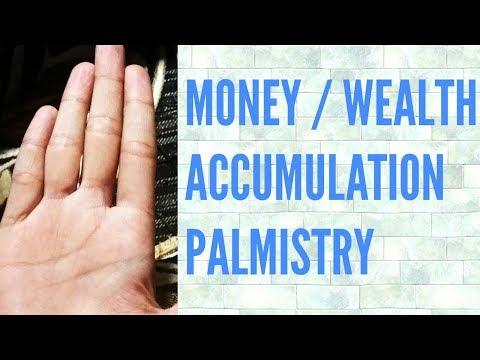 Money lines   palmistry   hastrekha   palm reading