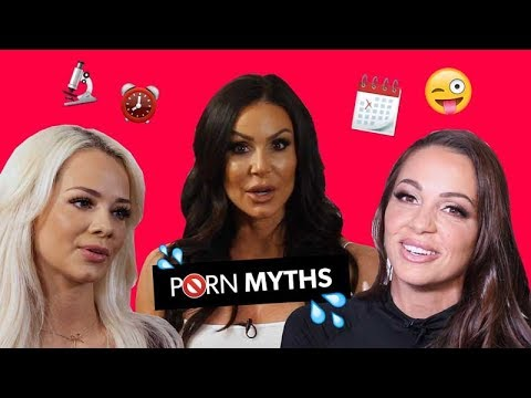 PORNSTARS KENDRA LUST, ABIGAIL MAC & ELSA JEAN EXPLAIN PORN MYTHS