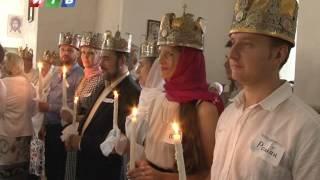 Венчание   Массовое венчание прошло в Соборе Александра Невского