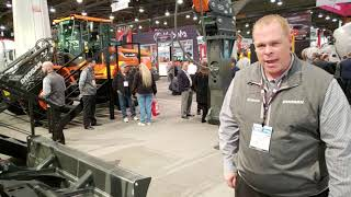 Video still for Doosan Showcases DX140LCR Crawler Excavator at World of Concrete 2019