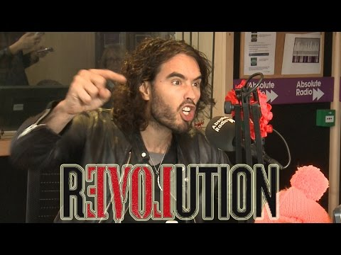 23 minutes with Russell Brand - REVOLUTION interview