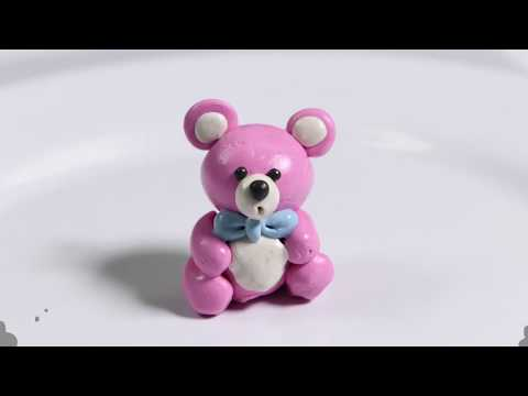 Play with Clay | Modelling Clay | Cute Bear