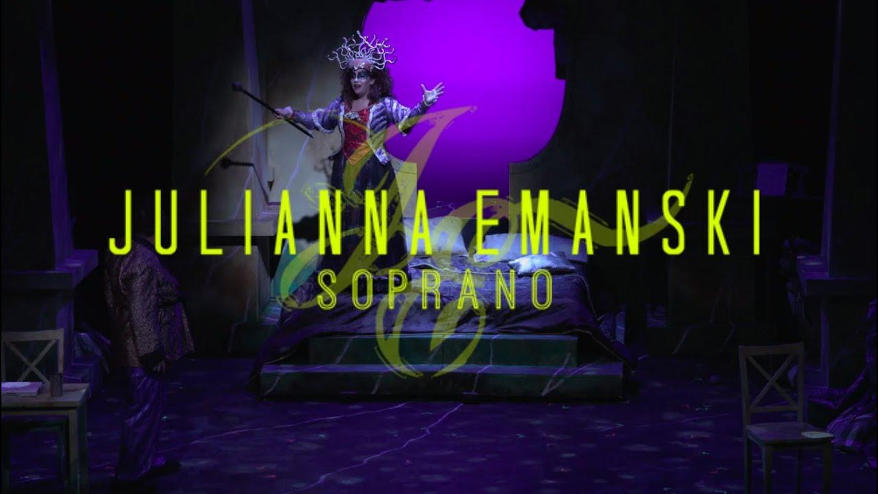 O zittre nicht, mein lieber sohn - Die Zauberflöte - The Magic Flute - Mozart - Julianna Emanski