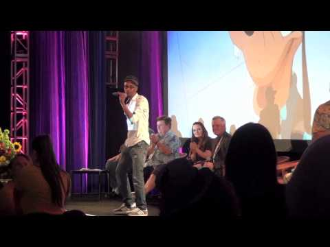 "Tevin Campbell performs live at Disney's ""A Goofy Movie"" 20th Anniversary reunion at D23 Expo 2015"