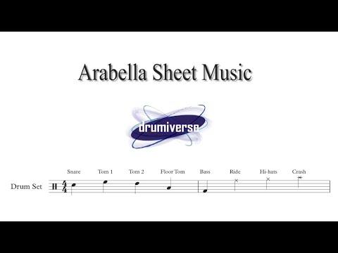 Arabella By Arctic Monkeys Drumiverse