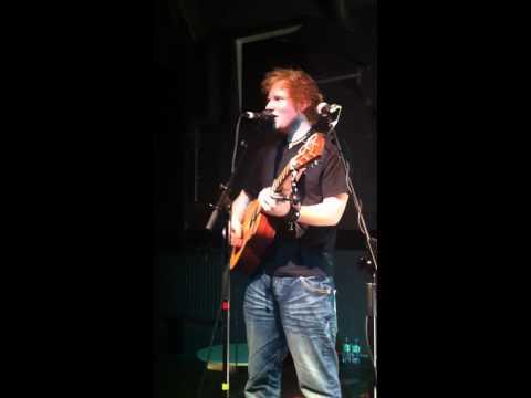 Ed Sheeran - Little Bird, Live at the Cluny 2 Newcastle
