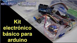 kit electronico basico para arduino