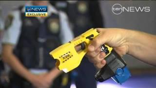 Police claim Taser use falling