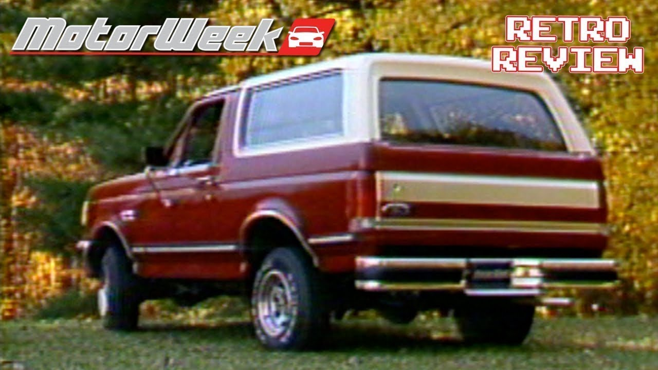 2017 Ford Bronco >> 1988 Ford Bronco XLT | Retro Review - YouTube