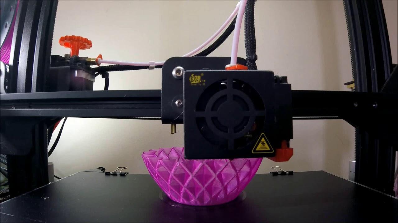 Test Print - ELP 8M Camera - Tronxy X5S - OctoPrint Vase