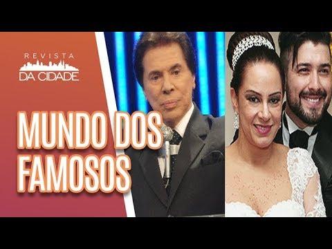 Genro de Sílvio Santos FORAGIDO + Casamento de Camila Queiroz - Revista da Cidade (18/06/18)