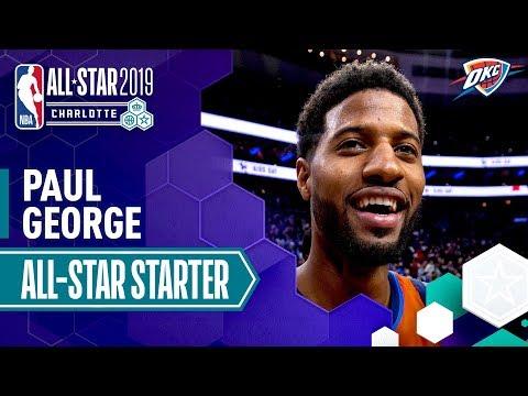 Paul George 2019 All-Star Starter | 2018-19 NBA Season
