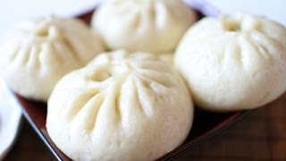 How to make vegetarian buns/Traditional Chinese Food/素馅包子