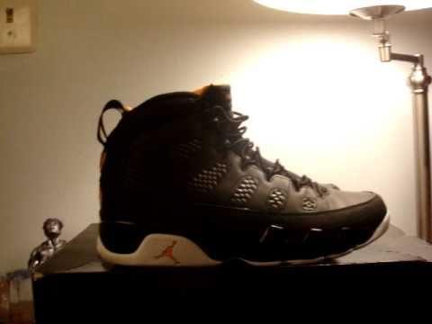 ba17088727d275 Air Jordan 9 Black Citrus-White 2010 - YouTube